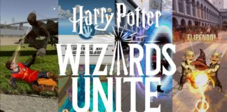 Harry Potter in Pokémon Go style game