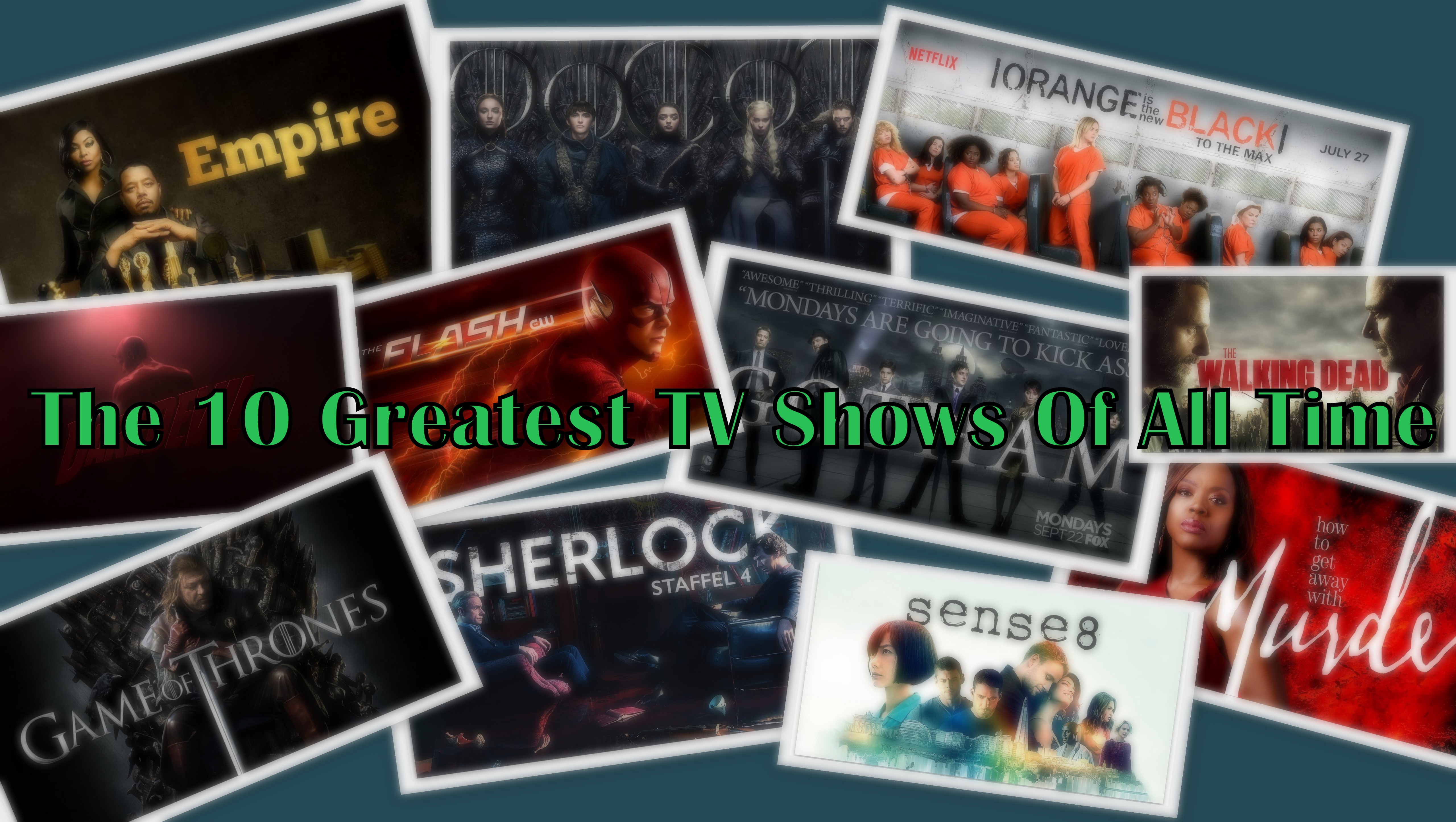 The 10 Greatest TV Shows Of All Time