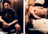 The New Neymar Batman and Spiderman Tattoo