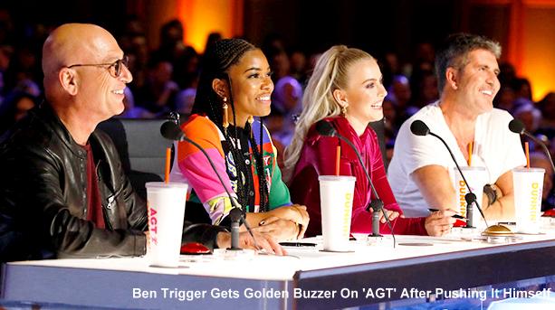 An Australian Dancer pushes The Golden Buzzer by Himself at AGT?