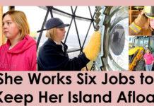 She Works Six Jobs to Keep Her Island Afloat
