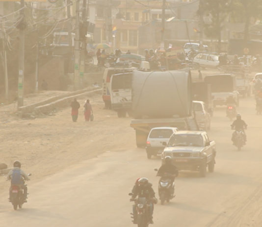 Air pollution hits to the peak in South Asian region