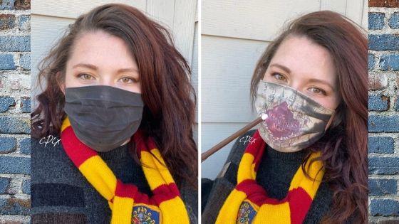 Harry Potter face mask